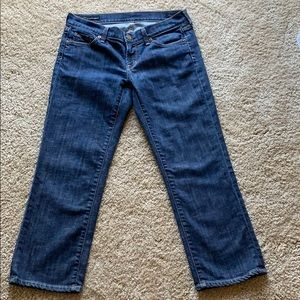 Citizens of Humanity denim crop jeans